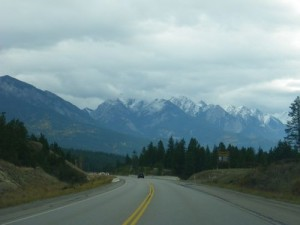 heading south from Radium