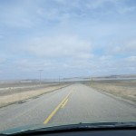 driving north out of Willow Bunch