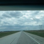 this section south of Fargo reminds me of autoroute 10 in Quebec!