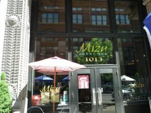 Mizi Sushi bar; excellent!