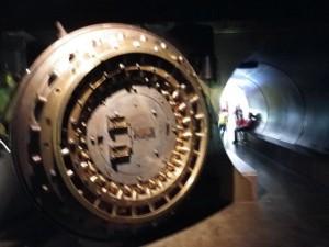 the inner vault door