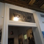 entrance to the 1904 World's Fair exhibit