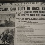 a horrible race riot