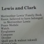 list of articles, including the Lewis' razor
