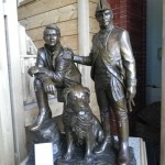 I loved this statue of Lewis and Clark; it seems to capture their spirit