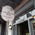 the Enchanted Attic was a treasure trove of incense, pendulums, crystals, and candles