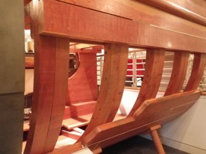 wooden ship innards