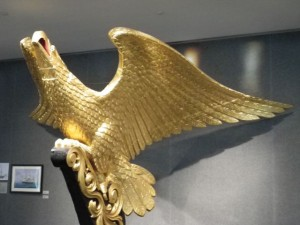USS Lancaster Eagle Figurehead