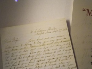 letter from a USS Monitor officer to his wife