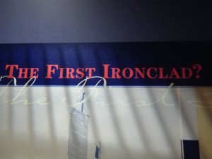 The first ironclad? (ie. the turtle ship)