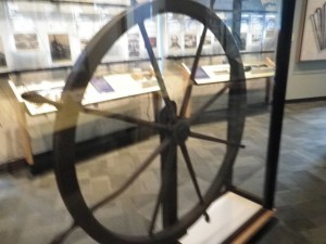 giant ship's wheel