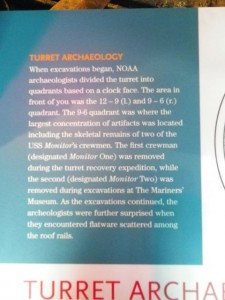 archaeology of the Monitor's turret