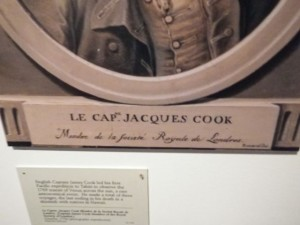 Le cap. Jacques (James) Cook