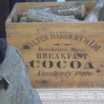 a box that once held breakfast cocoa