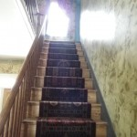 staircase to the second level