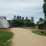 approaching the slave quarters