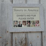 entrance to the museum about slavery