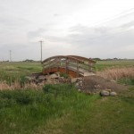 lovely bridge in Stettler