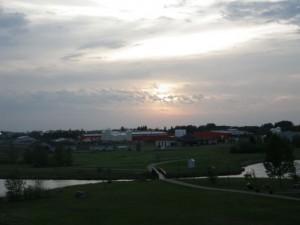 Stettler sunset