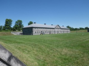 yet another view of the south side barracks