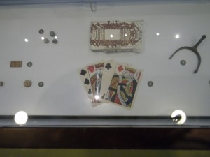 reproduction of a deck of cards