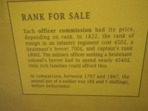 The cost of becoming an officer.