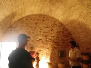 inside the powder magazine
