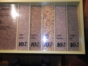 other grains, like rye and corn, comprised 10% each of the diet