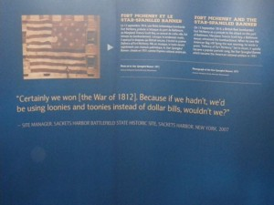 I am really amused that the US thinks it won the War of 1812 because Canada didn't conquer it.