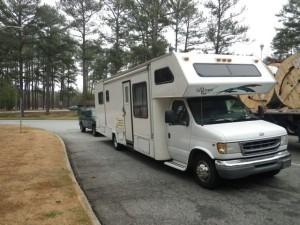 My rig in Alabama.