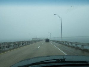 Long bridge to Gulf Breeze.