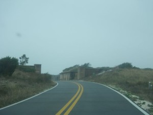 Approaching Fort Pickens