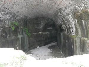Water cistern.
