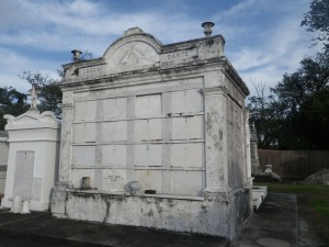 Masons sneaked into this cemetery and built a tomb, but only one person was ever allowed to be interred here.