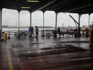 The Algiers Ferry car level.