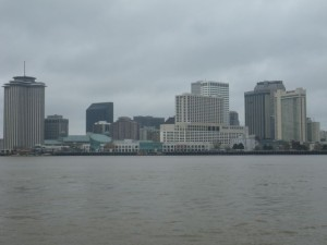 Downtown New Orleans seen from Algiers Point (still part of NOLA).