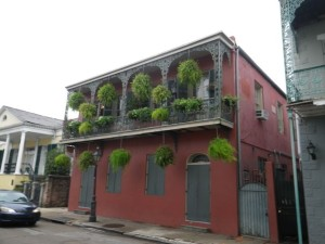 This sort of balcony screams 'New Orleans French Quarter' to me.