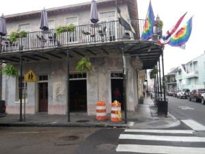 One of the many buildings that looks like how the French Quarter felt: very dank. Not humid, but dank, like a mouldy basement. I wonder if it was like this before Katrina.