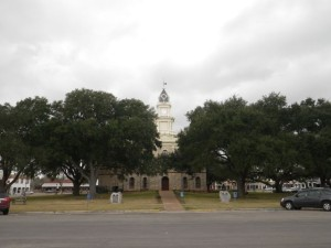 The Goliad courthouse.