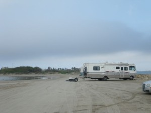 One of the RV boondocking beaches.