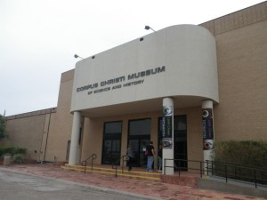 entrance to the Corpus Christi Museum of Science and history