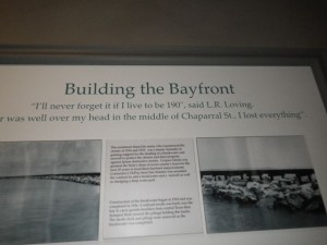 The Corpus Christi bayfront was conceived and developed after the devastating 1919 hurricane.