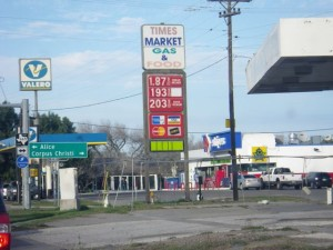 Driving home, I passed a gas station with very low prices. It's been closed a good long while. :)