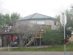 Octagonal house.