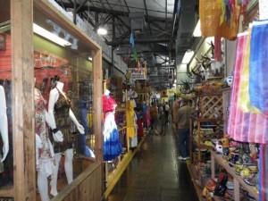 Interior of the Mercado.