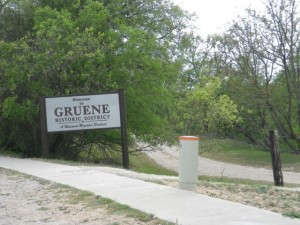 Welcome to Gruene.