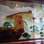 I was impressed by this mural inside the Eastern Buffet.